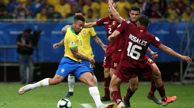 Brazil Harus Puas Imbang dengan Venezuela