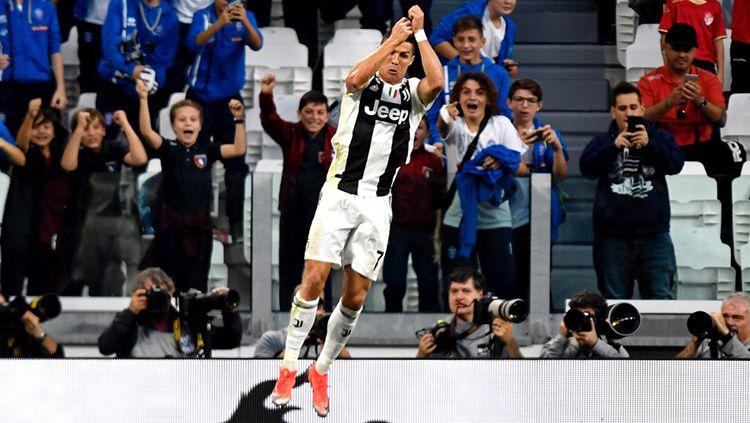 Selebrasi Ikonik ala Cristiano Ronaldo