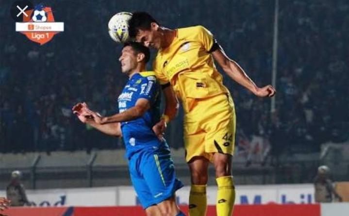 Hasil Liga 1: Persib Bandung Harus Rela Berbagi Poin Dengan Semen Padang
