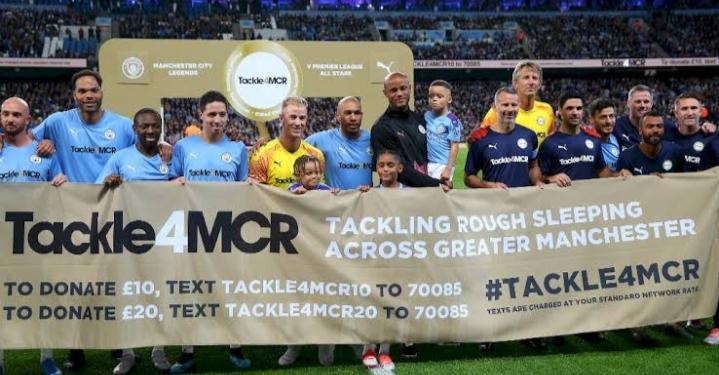 Laga Testimonial: Manchester City Legends vs Premier League All-Star, Hasil Akhir Seimbang